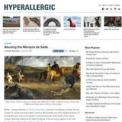Abusing the Marquis de Sade