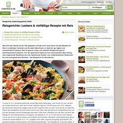 Vegetarische Reisgerichte - Frisch, gesund und fettarm