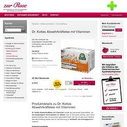 Dr. Kottas Abwehrkräftetee mit Vitaminen – Apotheke Zur Rose