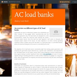 AC load banks