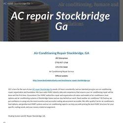 AC repair Stockbridge Ga