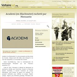 Blackwater XeServices Academi Idem