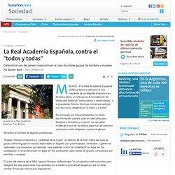 """La Real Academia Española, contra el """"todos y todas"""" - 05.03.2012"""