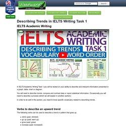 IELTS Academic Writing Task 1 - Describing Trends - English Vocabulary