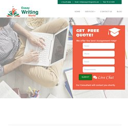 Best Academic Writing Service provider essaywritingworld.com