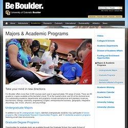Colorado U-Boulder