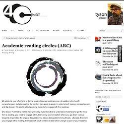 Academic reading circles (ARC)