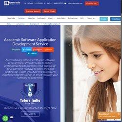 Academic Software Development Service UK India