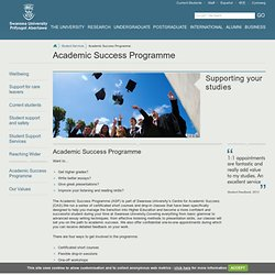 Academic Success Programme