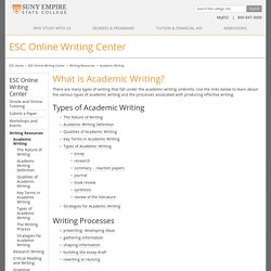 ESC Online Writing Center