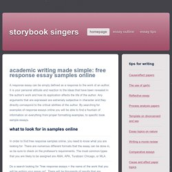 Clear Academic Writing Templates For Free On The Web