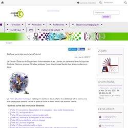 Académie de Paris - Guide de survie des aventuriers d'Internet
