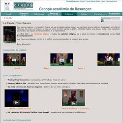 Canopé académie de Besançon : La Cantatrice chauve