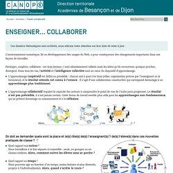 Canopé académie de Besançon : Travail collaboratif