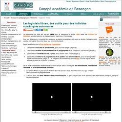 CRDP de Franche-Comté : Logiciels libres