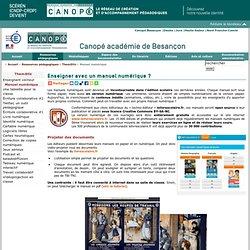 CRDP de l'académie de Besançon : Manuel numérique
