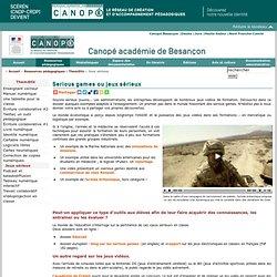 CRDP de l'académie de Besançon : Jeux sérieux