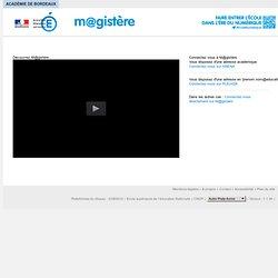 Magistère-Académie de Bordeaux