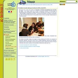 Formation web-radio des élus du CAVL