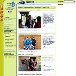 Interview Zep, collège La Plaine, Lavardac