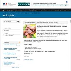 CANOPÉ Académie d'Orléans-Tours-Les jeux coopératifs : levier pour améliorer le climat scolaire
