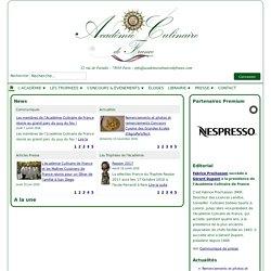 Académie Culinaire de France - ACCUEIL