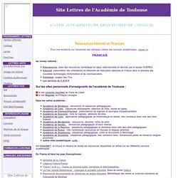 ACADEMIE DE TOULOUSE - LETTRES
