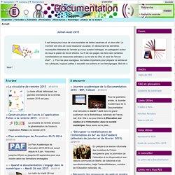Documentation - Académie de Paris - Accueil