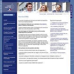 Accueil - Economie Gestion:Première STMG