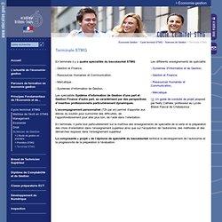 Accueil - Economie Gestion:Terminale STMG