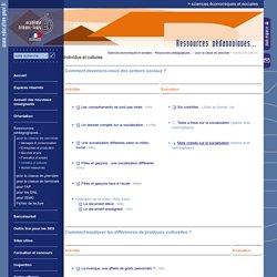 Sciences économiques et sociales:Individus et cultures