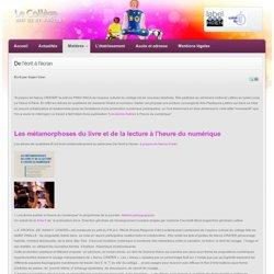 De l'écrit à l'écran - Collège Niki de Saint Phalle, Académie de Nice, Education Nationale