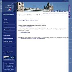 Anglais Orléans-Tours:Enseigner en cours d'anglais avec une tablette