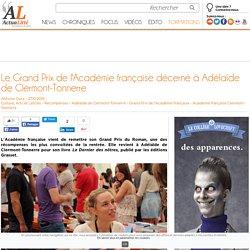 Le Grand Prix de l'Académie française décerné à Adélaïde de Clermont-Tonnerre
