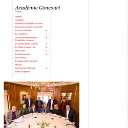 L'Académie Goncourt