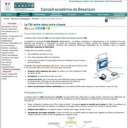 CRDP de Franche-Comté : Tableau numérique interactif