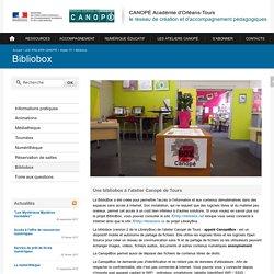 CANOPÉ Académie d'Orléans-Tours-Bibliobox