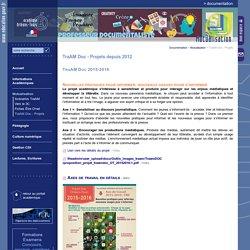 Documentation:TraAM Doc - Projets