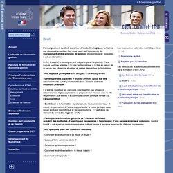 Accueil - Economie Gestion:Droit