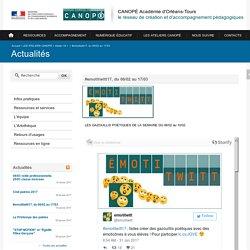 CANOPÉ Académie d'Orléans-Tours-#emotitwitt17, du 06/02 au 17/03