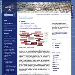Portail des Langues:...créer des cartes mentales