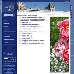 Anglais Orléans-Tours:Méthodes pour faire réussir les élèves