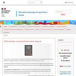 Académie de Paris - site EPS à l'école