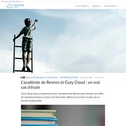 L'académie de Rennes et Cozy Cloud : un vrai cas d'école