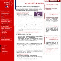 Un site SPIP clé en main