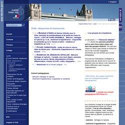 Anglais Orléans-Tours:2nde: séquences et ressources