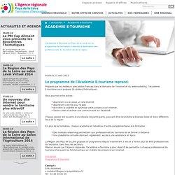 Académie e-Tourisme - L'Agence régionale Pays de la Loire