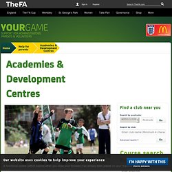 Academies & Development Centres