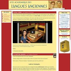 Site académique des Langues Anciennes