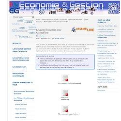 Réviser l'économie avec Assemb'live